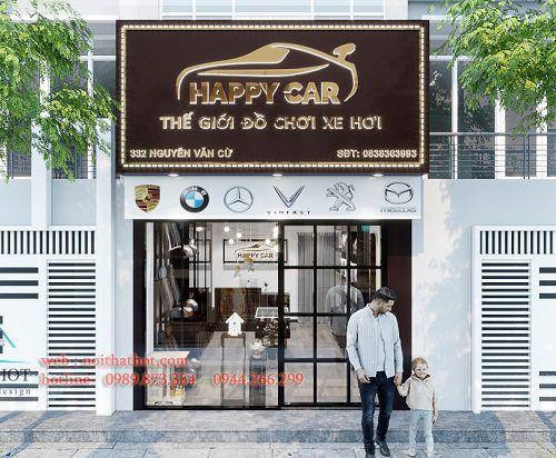 Thiết kế cửa hàng đồ chơi ô tô